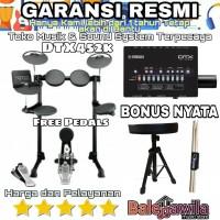 Drum Electric Yamaha Elektrik YAMAHA DTX 452K DTX452K DTX452 DTX 452