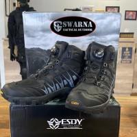 Sepatu Tactical Esdy 6 Hitam