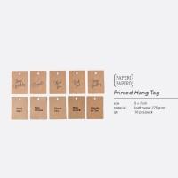 Printed HangTag - Tag / Kartu / Label Cetak