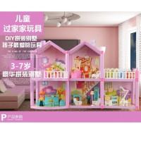 MURAH Mainan Rumah Rumahan Villaku Anak Perempuan Lengkap Perabot