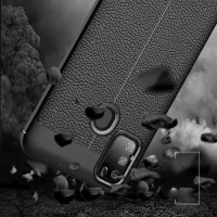 SAMSUNG M31 SOFT CASE AUTOFOCUS LEATHER KULIT JERUK