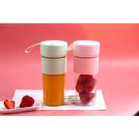 Blender Juice mini USB Shake and Go Blender Portable Recharge pisau -+ - HIJAU 290MM