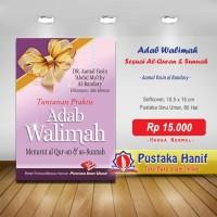 Buku Saku Tuntunan Praktis Adab Walimah