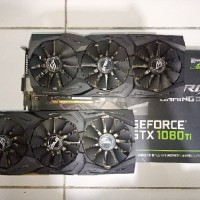 Second Vga Card ASUS GTX 1080 Ti STRIX OC 11GB GDDR5X (OC EDITION) - R