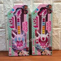 Mainan Anak Gitar Musik LOL - Gitar Lampu Musik Edukasi