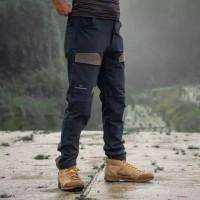 Celana Gunung Panjang Quick dry Pria Waterproof Merk MOUNTAINGEER