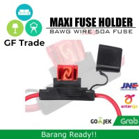 50A Maxi Fuse With Weatherproof Holder 8AWG - (Baru)
