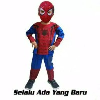 Kostum Baju Anak Spiderman Home Coming FREE Topeng - 8