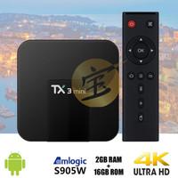 Android Tv Box TANIX TX3 mini RAM 2GB ROM 16GB OS 7 NOUGAT Ori