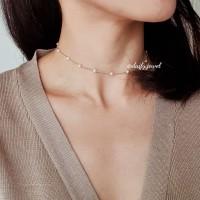 Kalung Choker Mutiara / Ghiena Pearl Necklaces