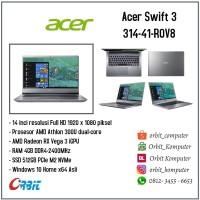 Laptop Acer Swift 3 314-41-R0V8 AMD Athlon 300U RAM 4GB SSD 512GB