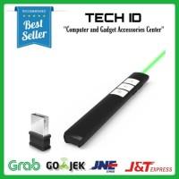 Pointer Presenter laser Wireless Green PP-932 remote presentasi