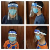 face shield tutup muka anti virus bisa dewasa dan anak