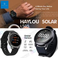 Haylou Solar LS05 Smart Watch 1.28 inch TFT Touch Screen Smartwatch - Hitam