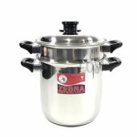 Panci Tim ZEBRA Double Boiler IMAGE 20cm 173220 (00230.00136)