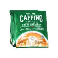 Caffino Delizio Kopi Instant 3 in 1 Choco Hazelnut 10 x 20 gr