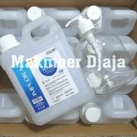 Paket Implora Hand Sanitizer 1 liter Cair free Botol Pump 500ml