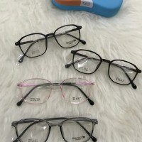kacamata logam dior antiradiasi/minus