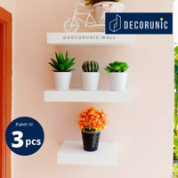 [Decorunic] Floating Shelf - Rak Dinding Minimalis ukuran 20,30,30 cm