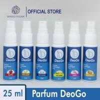Parfum Helm DeoGo 25 ml / Parfum Sepatu / Deodorizer Spray