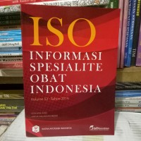 ISO informasi sepesialite Obat Indonesia volume 52tahun 2019