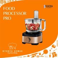 FOOD PROCESSOR PRO SIGNORA (TANPA CUBIC CUTTER)