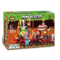 5123 Lego Minecraft My World Nether Treasure Battle