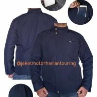 jaket motor harian anti air dan hanget gak panas gk tmbus angin m-xxl - Hitam, all size