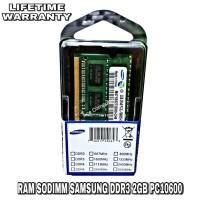 SAMSUNG SODIMM DDR3 2GB PC10600