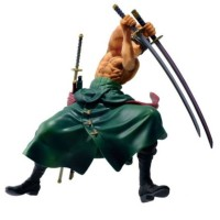 Roronoa Zoro One Piece Action Figure pvc statue wcf pop nendo jepang