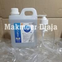 Paket Implora Hand Sanitizer 1 liter Gel free Botol Pump 500ml