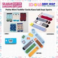 Kaos Kaki anak balita Petite Mimi Toddler Socks Boy L pilihan motif