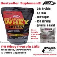 PH Whey Protein 10 lb / Pro Hybrid / PH Nutrition / Suplemen Fitness