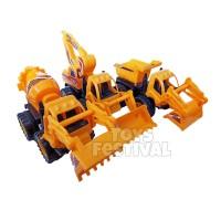 1 Buah Mainan Alat Berat Truck Beko Konstruksi