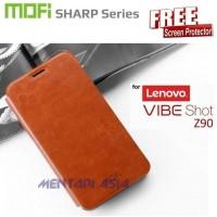 Flipcover Lenovo VIBE SHOT Z90 : MOFI Sharp Series ( + FREE SP) Murah