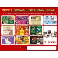 Paket DVD Undangan Nikah 3000 & Aneka Desain Campuran