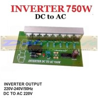 KIT INVERTER DC to AC 220V 750W