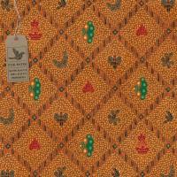 kain batik - Motif Batik Classic Sidomukti Warna (Orange )