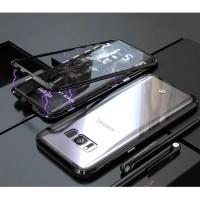 Magnetic Case Samsung S8+ / S8 Plus Aluminium Tempered Casing