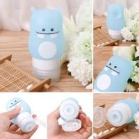 Botol Air Minum Portable Bahan Silikon Anti Bocor untuk Travel