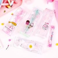 Cute Karton Susu Pencil Case/Kotak Pensil/Alat Tulis/Korea Alat