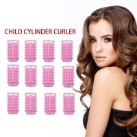12PCS/SET Plastic Hair Curler Roller Curl Hair Bendy Rollers DIY