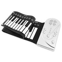 Keyboard Piano Elektronik Silikon 49 Kunci untuk Anak