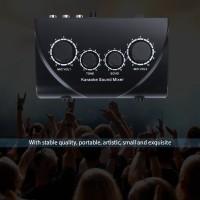 Karaoke Sound Mixer Professional Audio System Machine Portable Mini
