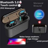 HBQ TWS q32 Earphone Stereo Wireless Bluetooth 5.0 Anti Air IPX5
