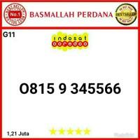 Nomer Nomor cantik IM3 11 digit seri Urut 3456 AABB 0815 9 345566 g11m