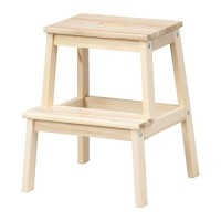 Promo IKEA BEKVAM - Bangku Tangga bahan kayu - Step Stool Limited