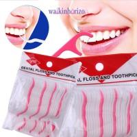 WA Tusuk Gigi Dental Floss untuk Kesehatan Mulut