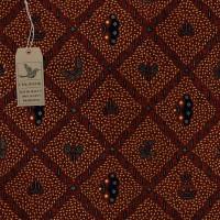 kain batik - Motif Batik Sidomukti Classic (Coklat) (Brown )