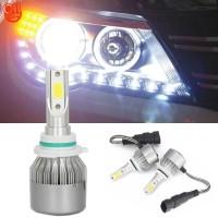 2Pcs Lampu LED C6 Anti Air IP67 Premium untuk Mobil